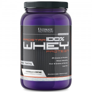 Протеин Ultimate Prostar Whey 2lb Ваниль