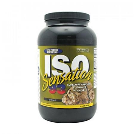 Протеин Ultimate Nutrition ISO Sensation 908 г Бразильский кофе