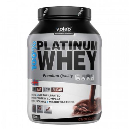 Протеин VPLab 100% Platinum Whey 908г Шоколад