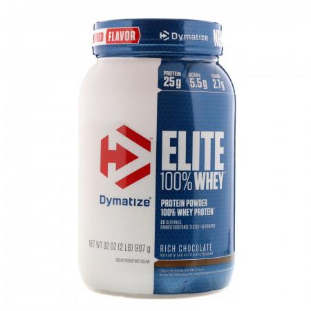 Протеин Dymatize Elite Whey 907г Насыщенный шоколад