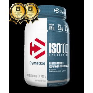 Протеин Dymatize ISO-100-0 Carb Whey 725г Арахисовое масло