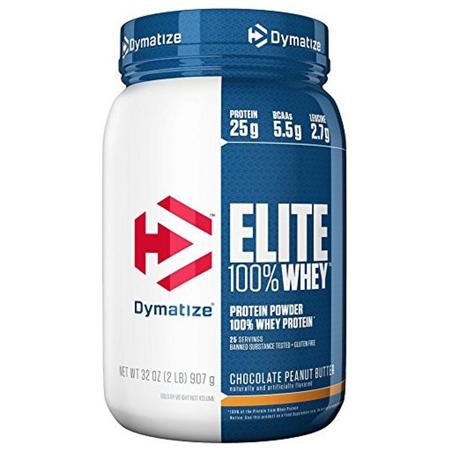 Протеин Dymatize Elite Whey 907г Шоколад-арахисовое масло
