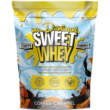 Протеин mr. Dominant SWEET WHEY 900г Карамель
