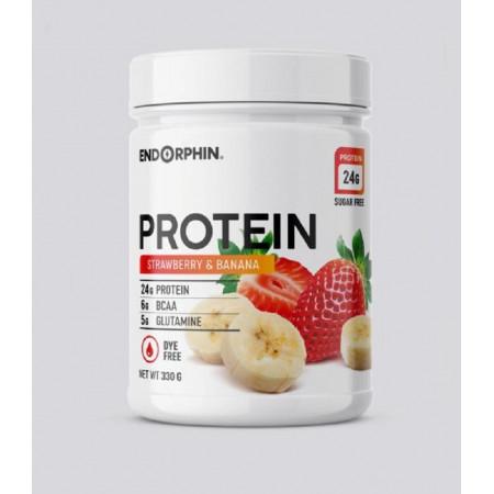Протеин Endorphin Whey Protein 330 г Клубника-банан