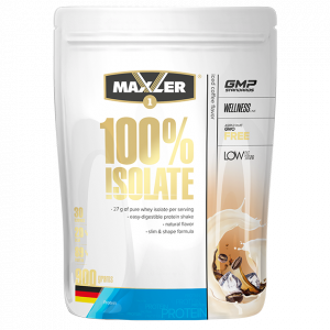 Протеин Maxler 100% Isolate 900г Холодный кофе