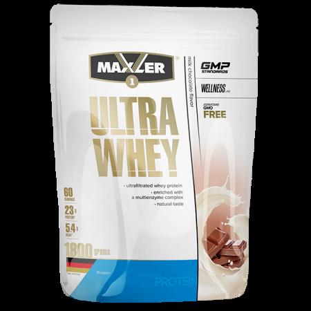 Протеин Maxler Ultra Whey 1800г Молочный шоколад