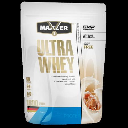 Протеин Maxler Ultra Whey 1800г Соленая карамель