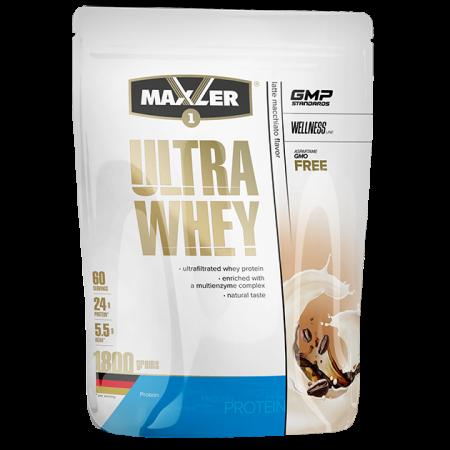 Протеин Maxler Ultra Whey 1800г Кофе латте