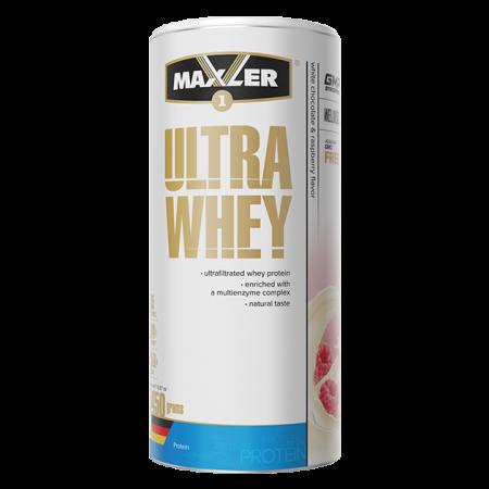 Протеин Maxler Ultra Whey 450г Белый шоколад-малина