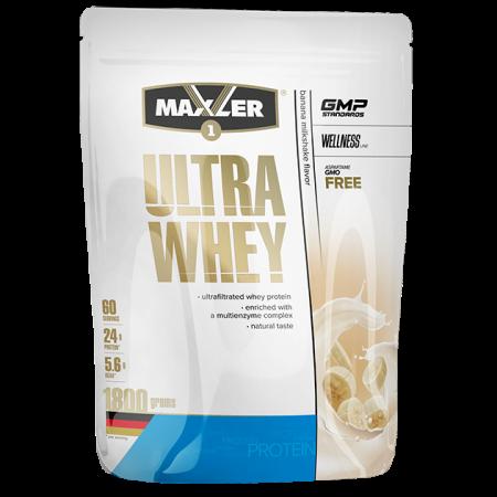 Протеин Maxler Ultra Whey 1800г Банановый коктель