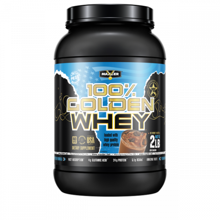 Протеин Maxler Golden Whey 908г Молочный шоколад