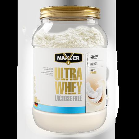Протеин Maxler Ultra Whey Lactose Free 900г Кокос