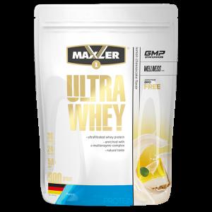 Протеин Maxler Ultra Whey 900г Лимонный чизкейк