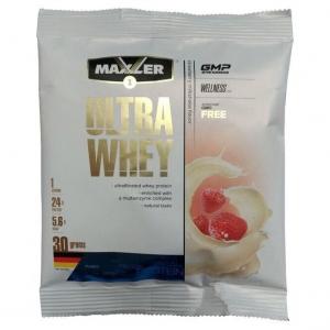 Протеин порционный Maxler Sample Ultra Whey 30г Вкусы в ассортименте