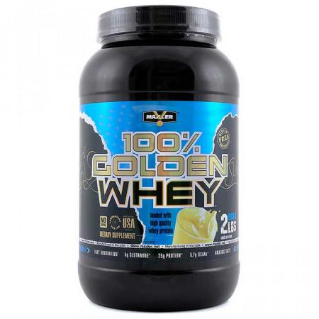 Протеин Maxler Golden Whey 908г Пикантное мороженое