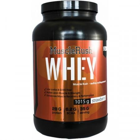 Протеин Muscle Rush Whey 1000г Бисквит