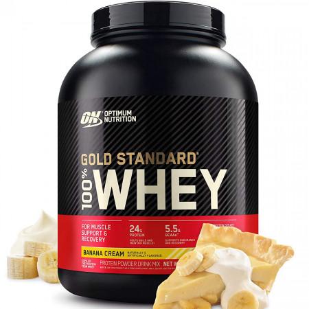 Протеин ON 100 % Whey Protein Gold Standart 2270г  Банан