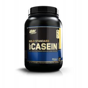 Протеин казеин Optimum Nutrition 100% Casein Protein 908г Ванильный крем
