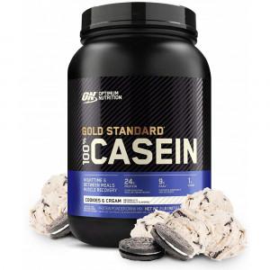 Протеин казеин Optimum Nutrition 100% Casein Protein 908г Печенье-крем