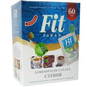 Сахарозаменитель Fit Parad № 8 смесь подсластителей на основе эритритола саше 60шт 1/32