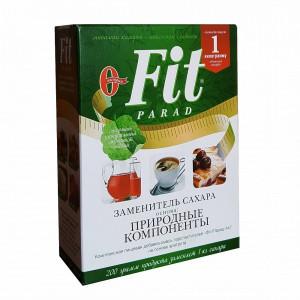 Сахарозаменитель Fit Parad № 7 - 200гр - смесь подсластителей на основе эритритола(коробка)