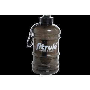 Бутылка для воды FitRule металлическая крышка 2.2л Черный