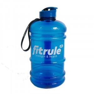 Бутылка для воды FitRule металлическая крышка 2.2л Синий