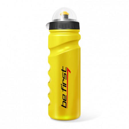 Be First Бутылка для воды  750 мл желтая с крышкой