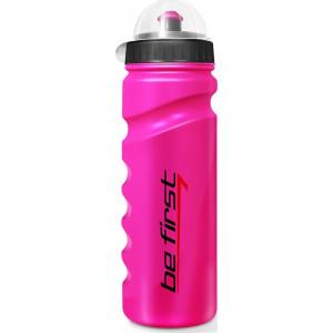 Бутылка для воды Be First  750мл Розовая с крышкой