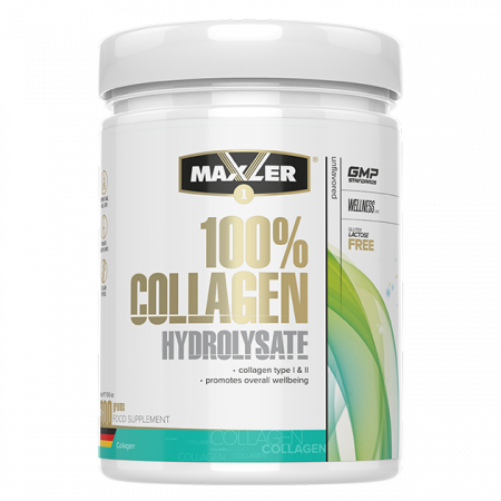 Maxler 100% Сollagen Hydrolysate 300г без вкуса