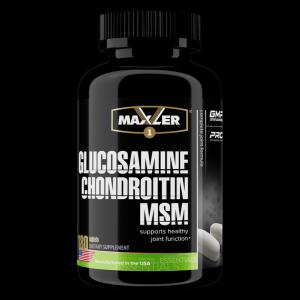 Витамины для суставов Maxler Glucosamine-Chondroitin-MSM 90 таблеток