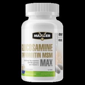 Витамины для суставов Maxler Glucosamine-Chondroitin-MSM MAX 90 таблеток
