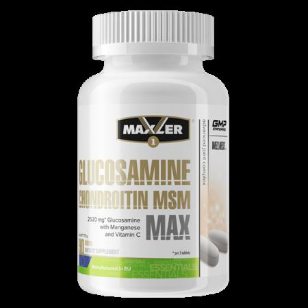 Maxler Glucosamine-Chondroitin-MSM MAX 90 tabs