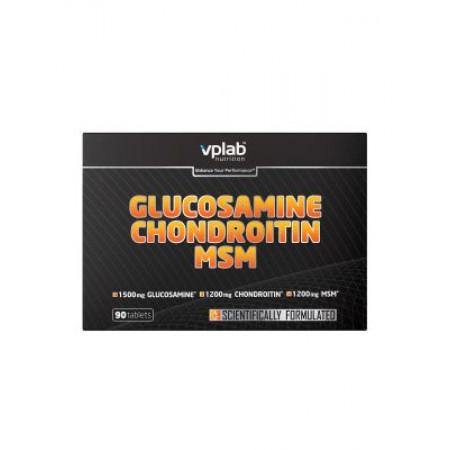 VPLab Glucosamine & Chondroitin & MSM 90 tabs (блистер)