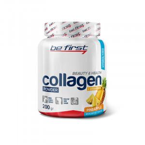 Коллаген+витамин С Be First Collagen + vitamin C 200г Ананас
