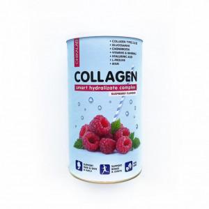 Коллаген Bombbar CHIKALAB Коктейль Collagen Малиновый 400г