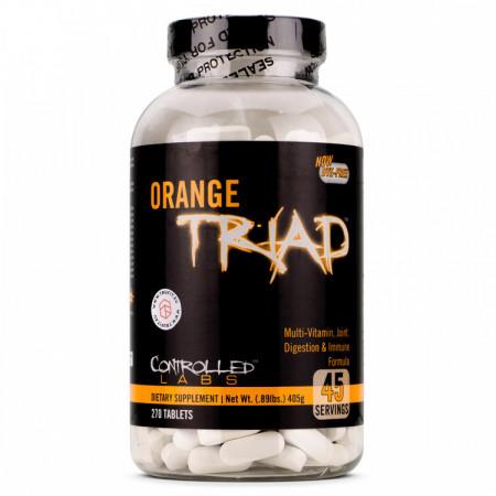 Витамины Controlled LABS Orange Triad 270 таблеток  (витамины состав UN PAK + FLEX)