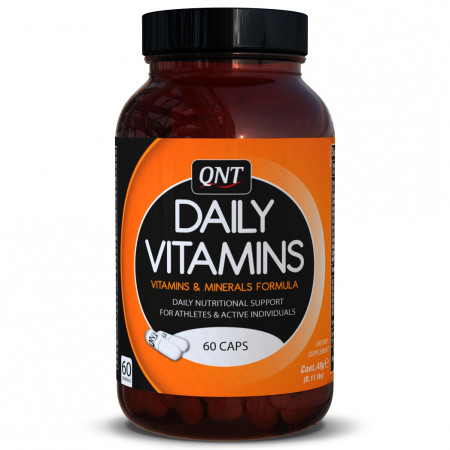 Витамины общие QNT Daily Vitamins 60 капсул