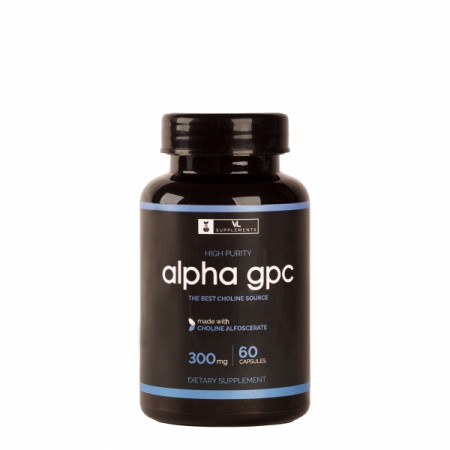 Витаминв Valhalla LABS Alpha GPC-50% 300 mg 60 капсул