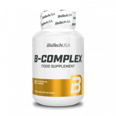 Витамины группы  Б BioTech B-Complex 60 таблеток