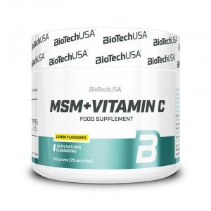 Витамины Biotech Nutrition MSM + Vitamin C 150г