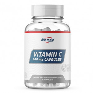Витамин С GeneticLab Vitamin C Аскорбидол 60 капсул