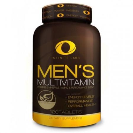 Витамины мужские Infinite labs Men's multi 120 таблеток
