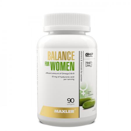 Витамины женские Maxler Balance for Women 90 жидких капсул