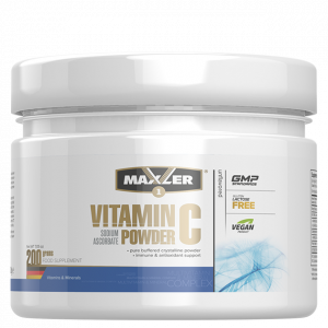 Витамин С Maxler Vitamin C Sodium Ascorbate Powder (200 порций) 200г