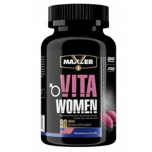 Витамины женские Maxler VitaWomen 90 таблеток