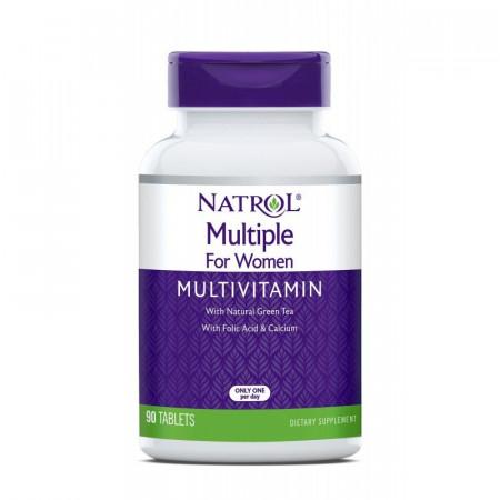 Витамины женские NATROL Multiple for Women 90 таблеток