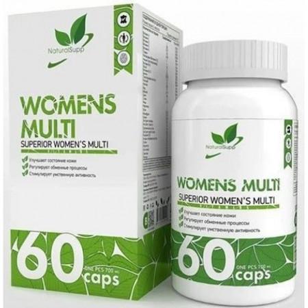 Витамины женские Natural Supp Vita women 60 капсул