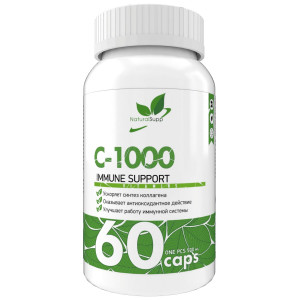 Витамины Natural Supp Vitamin C-1000 60 капсул