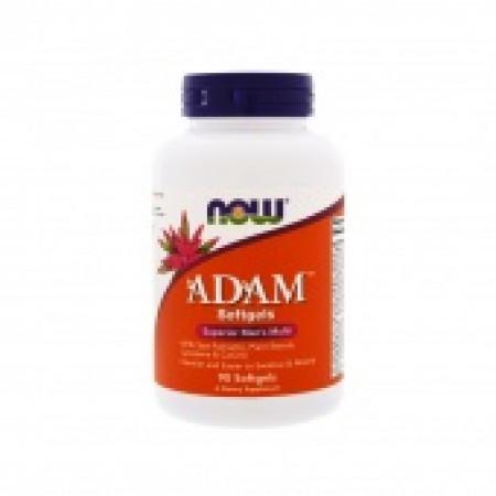 Витамины мужские Now adam multi  90 гелевых капсул